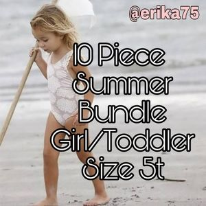 Girl (5t) 10 PIECE SUMMER Clothing BUNDLE!